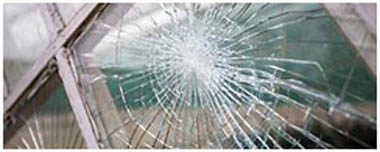 South Ockendon Smashed Glass